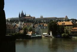 Vltava River in Prague, Czechia