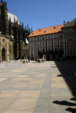 Prague Castle in Prague, Czechia by architects Benedikt Rejt, Josef Plecnik, Pavel Janák