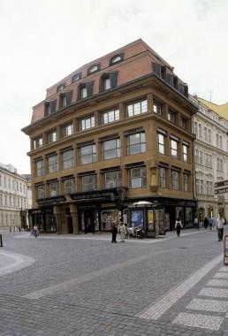 House of the Black Madonna in Prague, Czechia by architect Josef Gocár