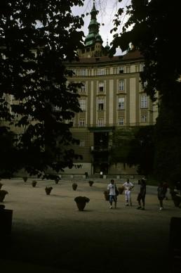 Apartment building in Prague, Czechia