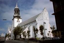 Saint Budolfi Church in Aalborg, Denmark
