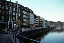 Canals in Copenhagen, Denmark