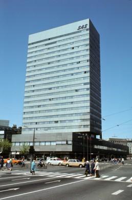 Radisson Blu Royal Hotel in Copenhagen, Denmark by architect Arne Jacobsen