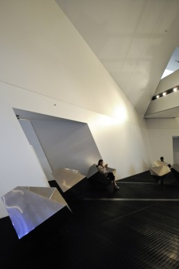 Royal Ontario Museum in Ontario, Canada by architects Daniel Libeskind, Frank Darling, John A. Pearson