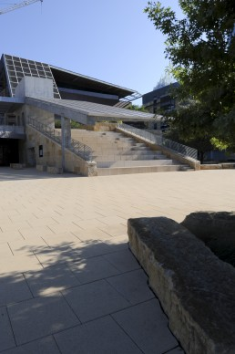 Austin City Hall in Austin, Texas by architect Antoine Predock