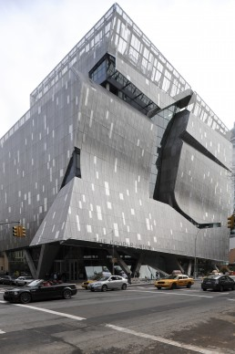 41 Cooper Square in New York, New York by architects Morphosis, Thom Mayne