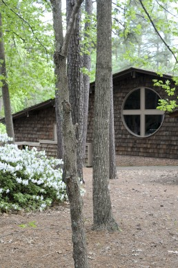 St. Giles Presbyterian Church in Raleigh, North Carolina by architect Harwell Hamilton Harris
