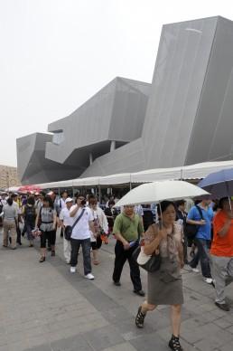 Expo 2010 Shanghai China, Germany Pavilion in Shanghai, China by architect Schmidhuber + Kaindl