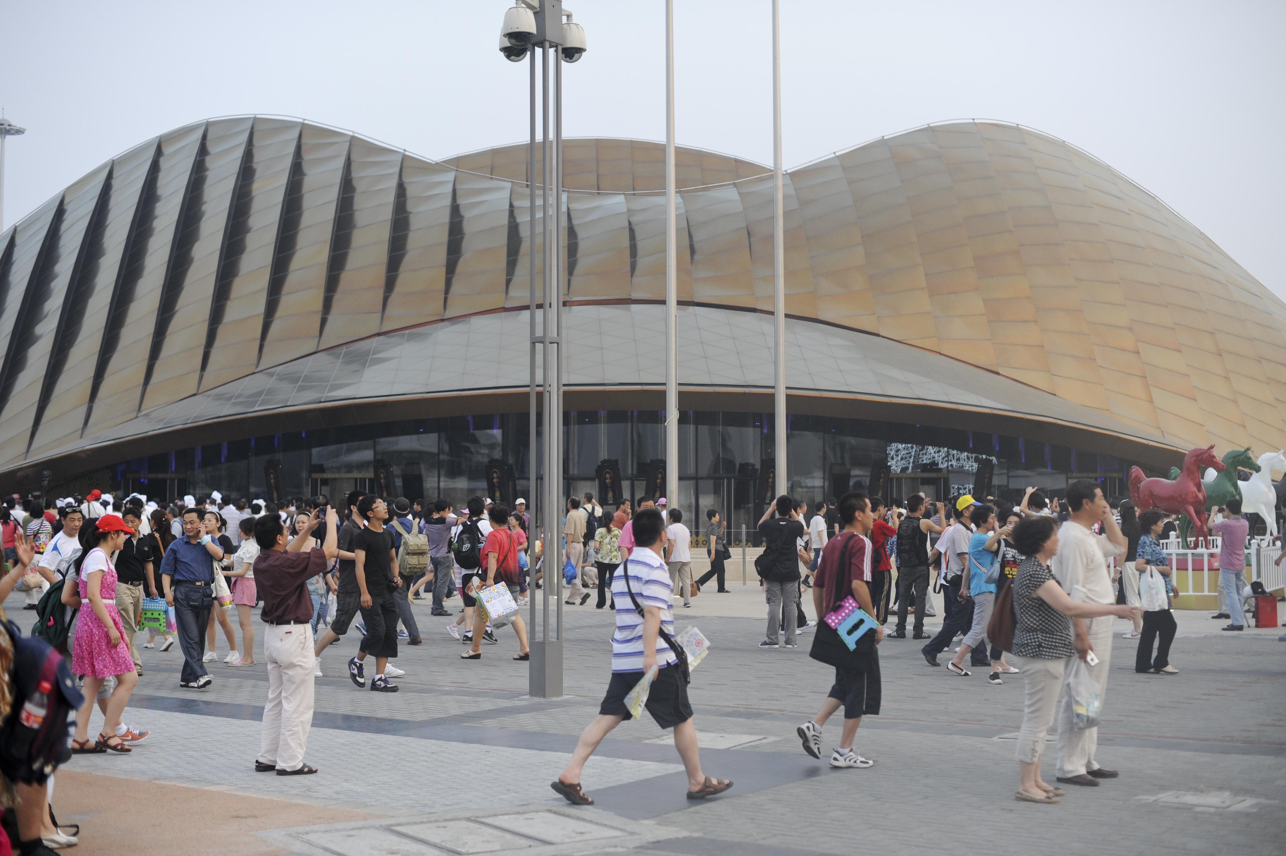 Expo 2010 shanghai china uae pavilion larry speck for Expo 2010 pavilions