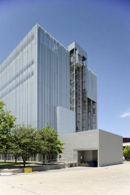 Dee and Charles Wyly Theater in Dallas, Texas by architects Rem Koolhaas, OMA, Joshua Prince-Ramus