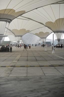 Expo 2010 Shanghai China, Expo Boulevard Megastructure in Shanghai, China by architect SBA International