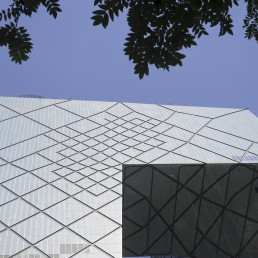 China Central Television Headquarters, CCTV Tower in Beijing, China by architect Rem Koolhaas