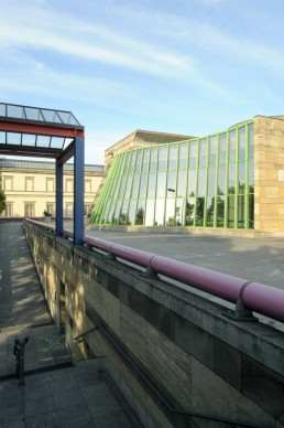 Neue Staatsgalerie Stuttgart in Stuttgart, Germany by architects James Stirling, Stirling & Wilford