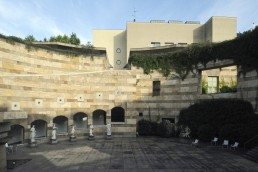 Neue Staatsgalerie Stuttgart in Stuttgart, Germany by architects James Stirling, Stirling & Wilford