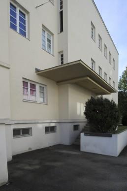 Weissenhofsiedlung, Behrens in Stuttgart, Germany by architect Peter Behrens