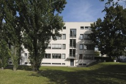 Weissenhofsiedlung, Mies van der Rohe in Stuttgart, Germany by architect Ludwig Mies van der Rohe