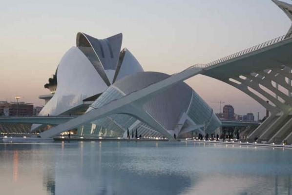 Calatrava's City of Arts and Sciences, Valencia
