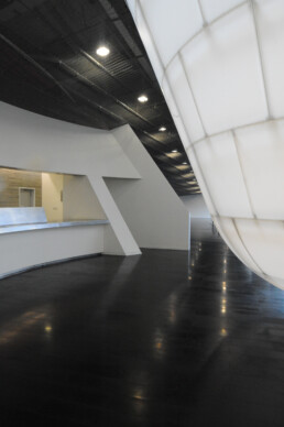 Giant Interactive Headquarters by Morphosis Architecture Firm Thom Mayne in Beijing China Interior and Exterior photographs by Larry Speck