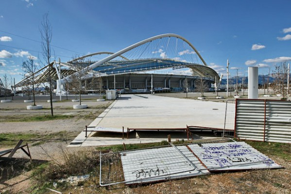 Ruins of the Athens 2004 Olympic Games.