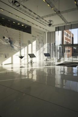 MIT Media Lab in Cambridge, Massachussetts by architects Fumihiko Maki, Maki and Associates