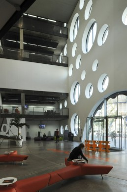 Ravensbourne College in London, Britain by architect Foreign Office Architects