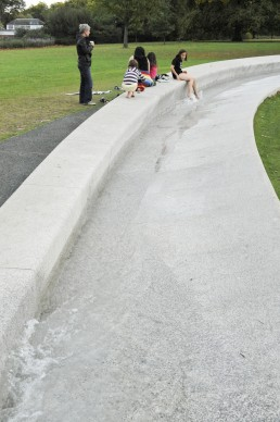 Diana, Princess of Wales Memorial Foundation in London, Britain by architect Kathryn Gustafson