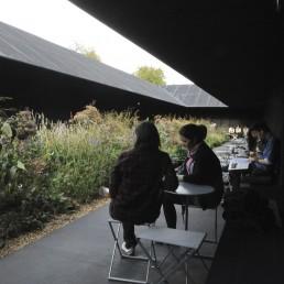 2011 Serpentine Gallery in London, Britain by architect Peter Zumthor