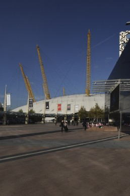 Millenium Dome in London, Britain by architect Richard Rogers