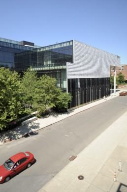 OSU, Austin E. Knowlton School of Architecture in Columbus, Ohio by architects Mack Scogin, Merrill Elam, Mack Scogin Merrill Elam Architects