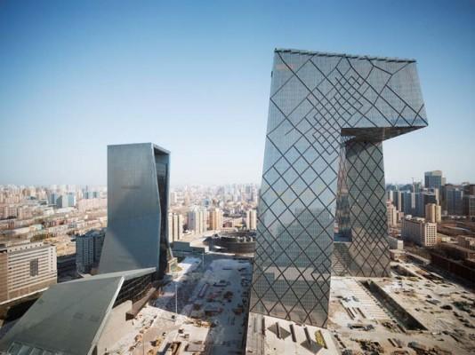 The CCTV complex in Beijing