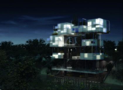 Proposed micro-housing, Denver