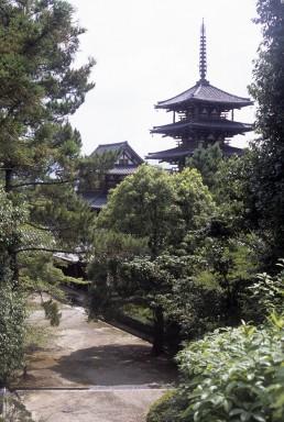Horyu-ji in Nara, Japan