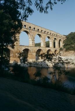 Pont du Gard in Nimes, France