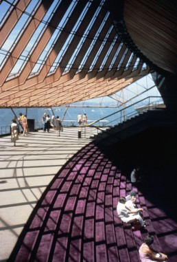 Opera House in Sydney, Australia by architect Jorn Utzon
