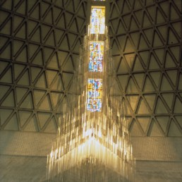 Cathedral of St. Mary of the Assumption in San Francisco, California by architects Pietro Belluschi, Pier-Luigi Nervi