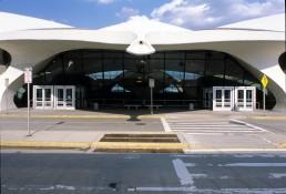 TWA Flight Center in New York, New York by architect Eero Saarinen