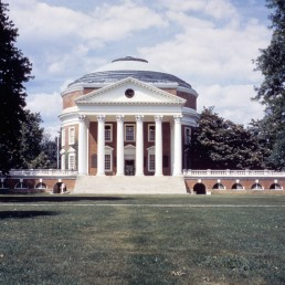 University of Virginia in Charlottesville, Virginia by architect Thomas Jefferson