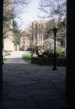 Morse and Stiles Hall, Yale University in New Haven, Connecticut by architect Eero Saarinen