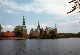Frederiksborg Castle in Hillerod, Denmark by architect Hans and Lorenz van Steenwinckel