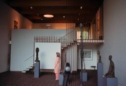 Louisiana Museum of Modern Art in Copenhagen, Humlebæk by architects Vilhelm Wohlert, Jørgen Bo