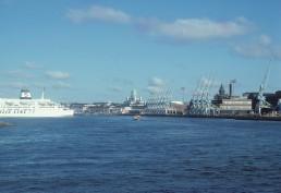 South Harbor in Helsinki, Finland