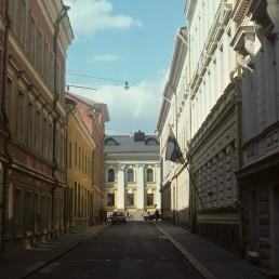 Helenankatu Street in Helsinki, Finland