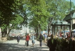Esplanadi in Helsinki, Finland