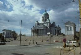 Helsinki Cathedral in Helsinki, Finland by architect Carl Ludvig Engel