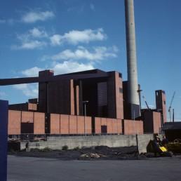 Hanasaari Power Plant in Helsinki, Finland by architect Timo Jussi Penttilä
