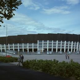 Olympic Stadium in Helsinki, Finland by architects Toivo Jäntti, Yrjö Lindegren