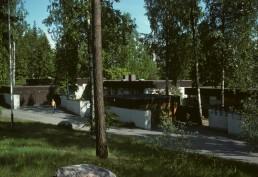 luxury houses in Tapiola, Finland by architects Kaija Siren, Heikki Siren