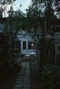 Otsonpesa Row Houses in Tapiola, Finland by architects Kaija Siren, Heikki Siren