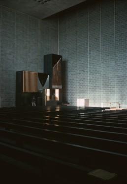 Tapiola Church in Tapiola, Finland by architect Aarno Ruusuvuori