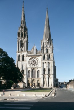 Chartres Cathedral in Chartres, France